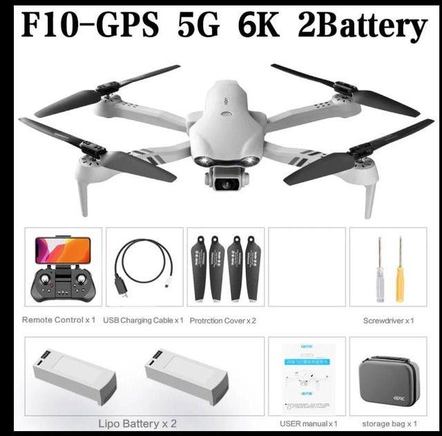 Brinquedo Drone f10 GPS câmera 6K Wifi FPV