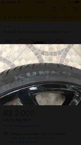 Roda aro 20 com pneus *** LEIA O ANUNCIO*** - Foto 3