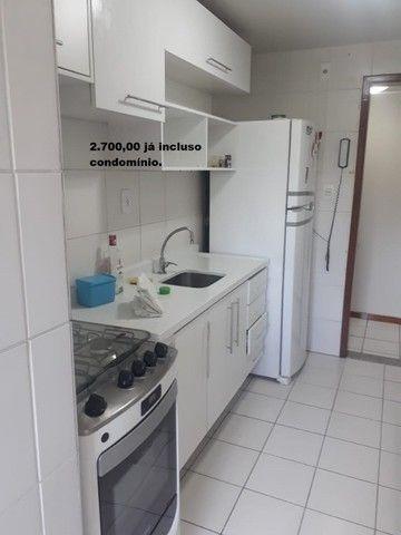 Apartamento com 2 quartos sendo 1 no Aleixo 100% mobiliado.,,;,//- - Foto 16