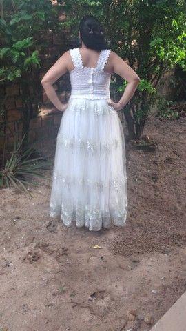 Vestido de noiva - usado apenas uma vez. - Foto 3