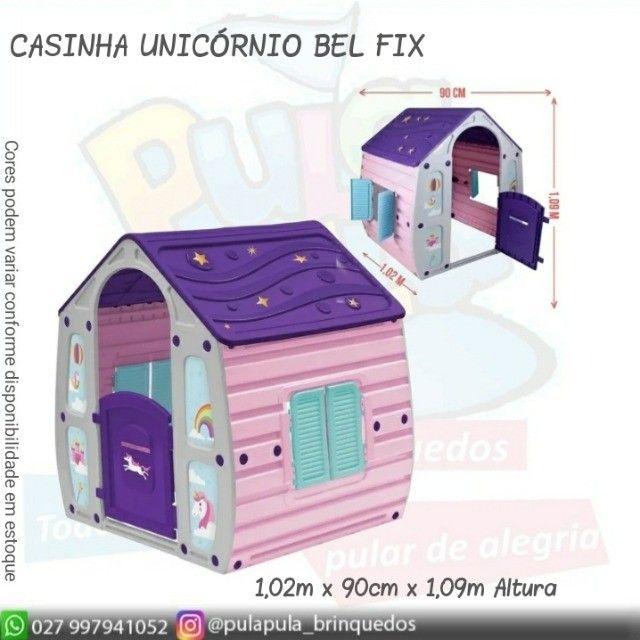 Novidade!! Casinha infantil Unicórnio Colorida - A pronta entrega - Foto 2
