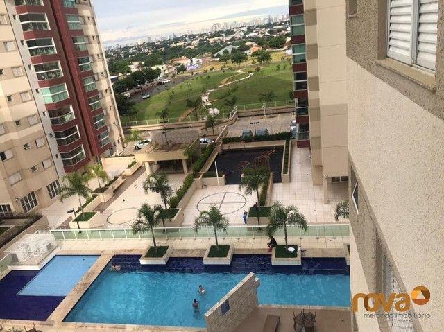 Apartamento à venda com 3 dormitórios em Residencial eldorado, Goiânia cod:NOV235809 - Foto 8