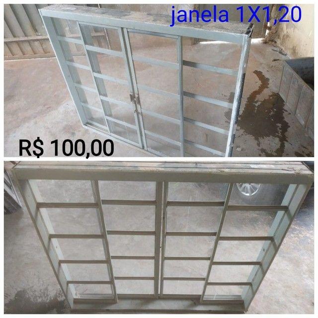Janela e portas usada - Foto 2