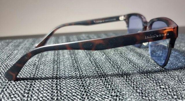 Oculos Sol Vintage Azul Chilli Beans Unisex<br> - Foto 4