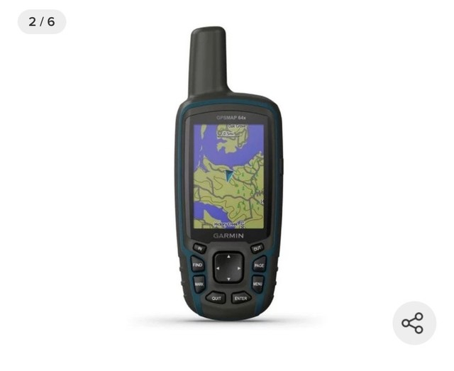GPS Portátil Garmin GPSmap 64x Mapa Topoactive América do Sul  - Foto 6