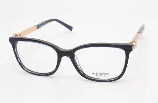 Óculos Armação com Lente Ana Hickman Usado  - Foto 6