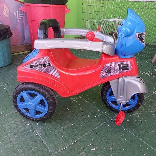 Cadeira criança triciclo carrinho bicicleta  - Foto 3
