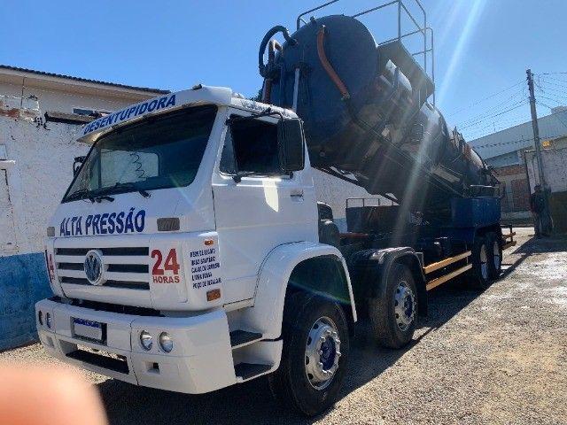 Caminhão Limpa Fossa E Hidrojato De 16 000 Litros - Foto 4
