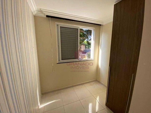 Apartamento com 3 dormitórios para alugar, 48 m² por R$ 700,00/mês - Vila Nova - Maringá/P - Foto 11