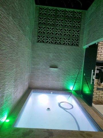 Linda Casa 3/4 ampliada com piscina condomínio Rubi - Foto 16