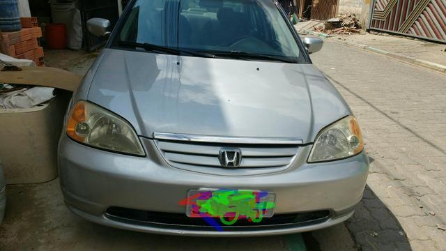 Vendo Ou Troco Honda Civic 2001 V Tec