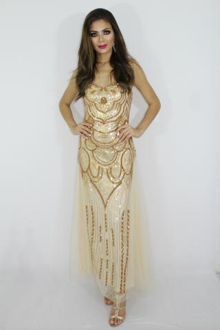 01b4943b7 Vestido de Festa LUXO - Madrinha - Formatura - Mãe Noiva /Noivo - Casamento  -