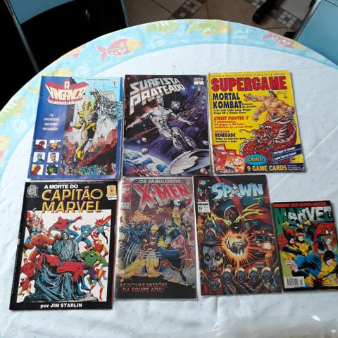 Lote 83 Gibis Diversos Marvel DC Image Nacionais e Americanos - Foto 5