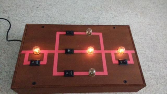 Circuito Seri E Paralelo : Experimento de física circuito série paralelo outros itens