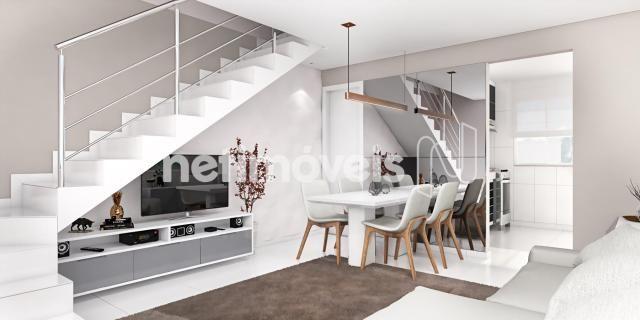 Casa de condomínio à venda com 2 dormitórios em São joão, Betim cod:731529 - Foto 2