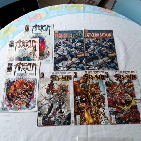Lote 83 Gibis Diversos Marvel DC Image Nacionais e Americanos