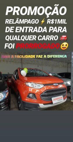 Ford/ECOSPORT FREESTYLE 1.6 2014 COM R$1MIL DE ENTRADA NA SHOWROOM AUTOMÓVEIS