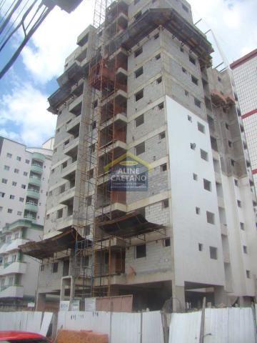 Apartamento à venda com 1 dormitórios em Ocian, Praia grande cod:FF078
