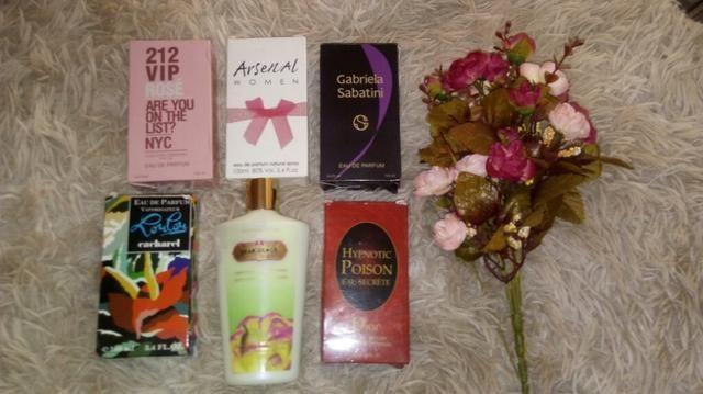 Perfumes liquidaçao 100 ml 25 reais somente