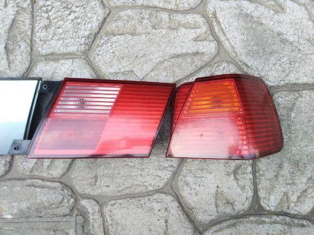 Tampa traseira + Lanternas Arteb + Aplique Moldura placa Santana G3 - Foto 8