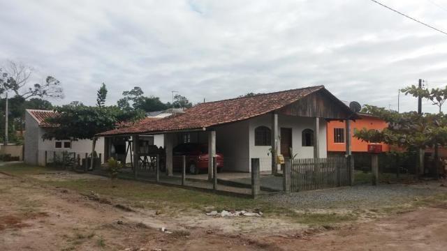 Boa casa de alvenaria em itapoá, aproximadamente 1.100 metros da praia, total de 108 m2 co - Foto 4
