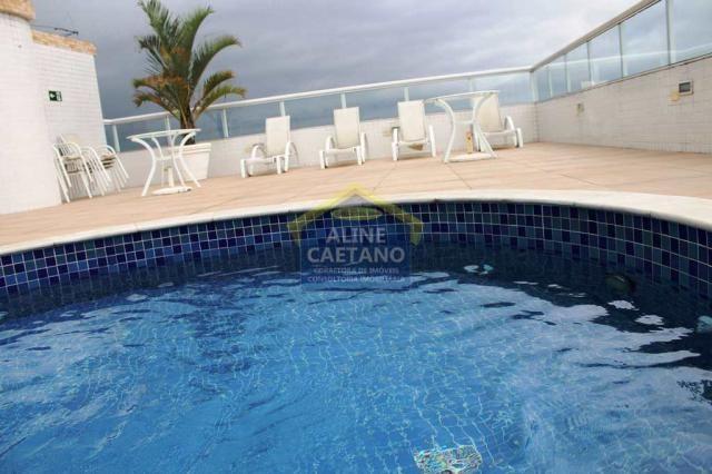 Apartamento à venda com 3 dormitórios em Guilhermina, Praia grande cod:ES292