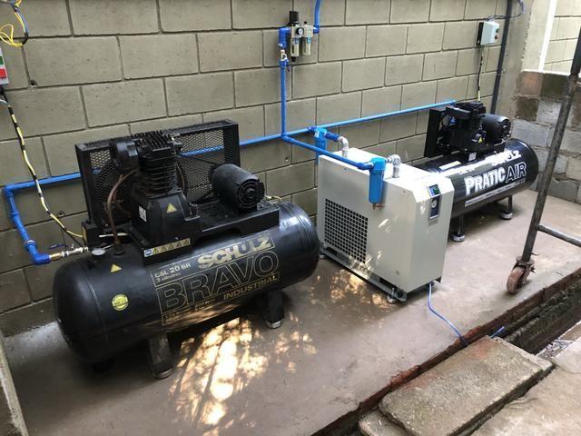 Compressores e Redes de ar comprimido em PPR Ar/água quente/fria e Gás - Foto 5