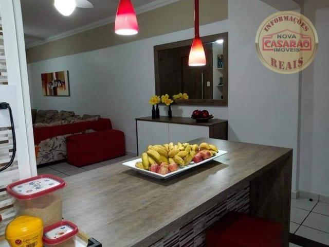 Apartamento com 2 dormitórios à venda, 89 m² por R$ 285.000 - Vila Tupi - Praia Grande/SP - Foto 6
