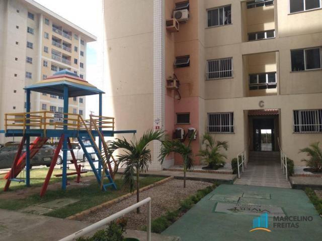 Apartamento com 2 dormitórios para alugar, 52 m² por r$ 1.109/mês - álvaro weyne - fortale - Foto 9