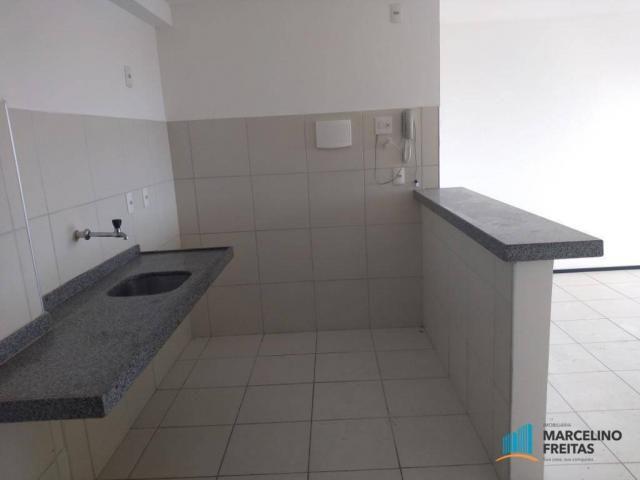 Apartamento com 2 dormitórios para alugar, 52 m² por r$ 1.109/mês - álvaro weyne - fortale - Foto 14