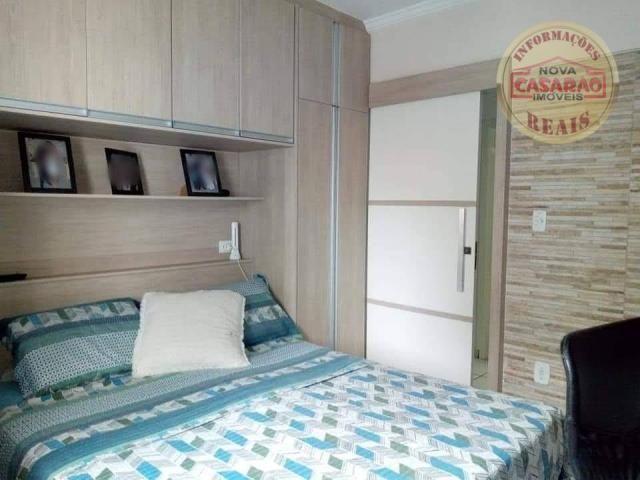 Apartamento com 2 dormitórios à venda, 89 m² por R$ 285.000 - Vila Tupi - Praia Grande/SP - Foto 11