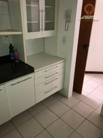 Apartamento com 1 dormitório à venda, 54 m² por R$ 220.000,00 - Jatiúca - Maceió/AL - Foto 11