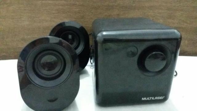 Caixa de som USB da multilaser - Foto 5