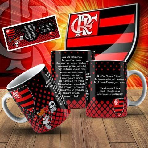 Canecas do Flamengo com Seu nome! - Foto 5