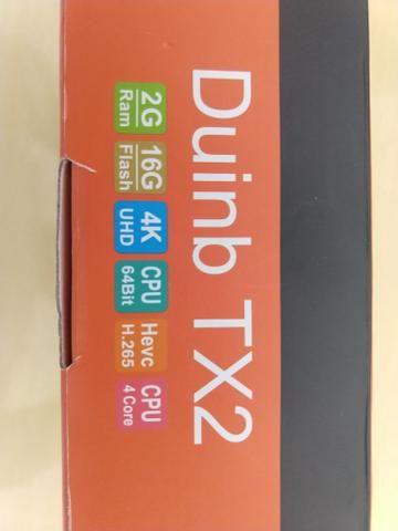 Box tv tx2 original* transforme sua tv comum em uma smartv - Foto 5