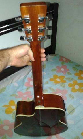 Vendo ou troco violão Tagima Dallas - Foto 2