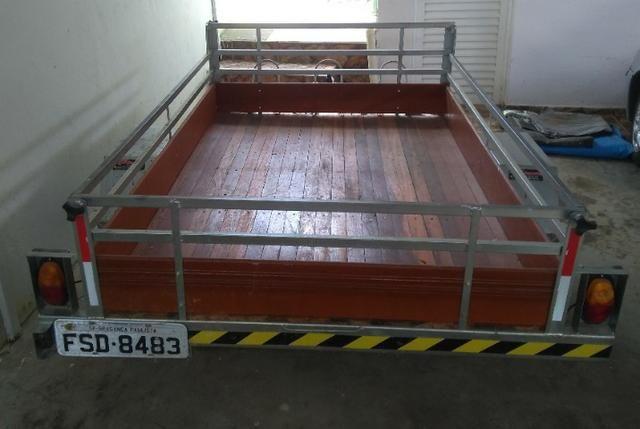 Carreta Reboque 33T 2,5 x 1,60mts