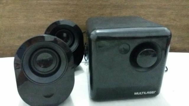 Caixa de som USB da multilaser - Foto 3