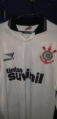 Camiseta corinthians manga longa lendaria - Esportes e ginástica ... 513d425c9fb08