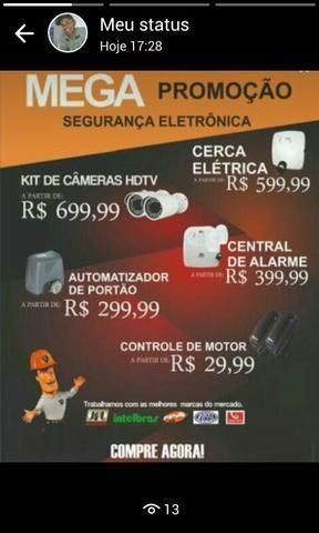 Mega promoção em segurança eletrônica em geral - Áudio, TV, vídeo e ... c1008bc722