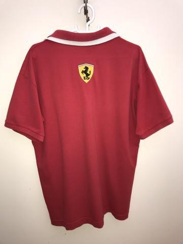 62b19bd021 Camisa Polo Ferrari F1 - Original - Roupas e calçados - Sé