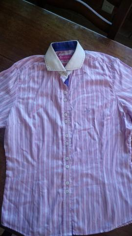 Camisa Feminina Dudalina 42 - Roupas e calçados - São Lucas 0389a2842df5c