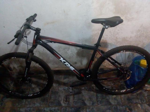 Bicicleta aro 29 zerada - Foto 2