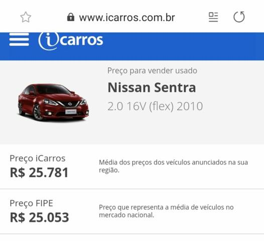 Vendo Nissan Sentra 2.0