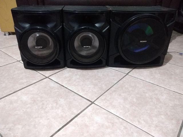 Conjunto de Caixas+ Subwoofer 3000 Watts Sony GTR555 - Foto 3