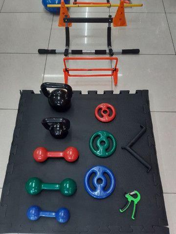 Material Esportivo para treinar em casa ou onde quiser - Foto 4
