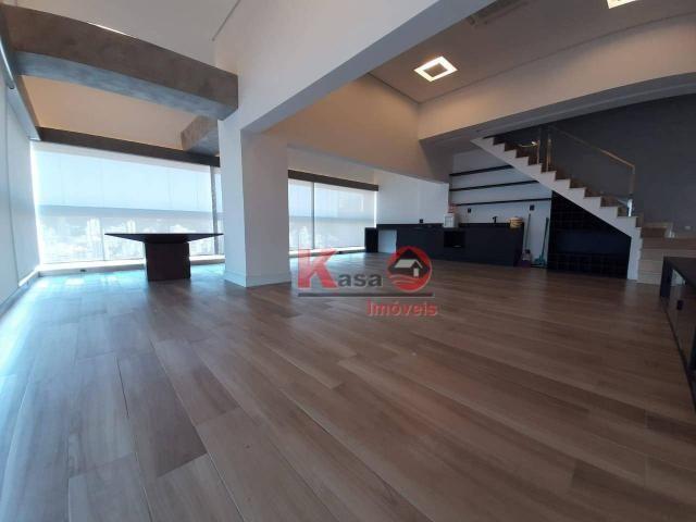 Cobertura com 4 dormitórios à venda, 410 m² por R$ 7.500.000,00 - Gonzaga - Santos/SP - Foto 14