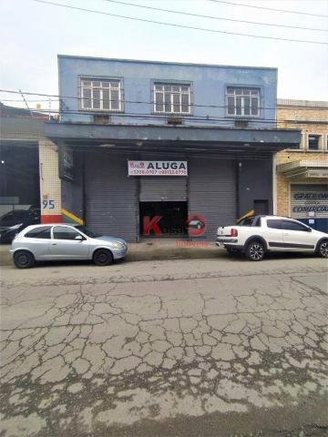 Galpão para alugar, 568 m² por R$ 10.000,00/mês - Paquetá - Santos/SP