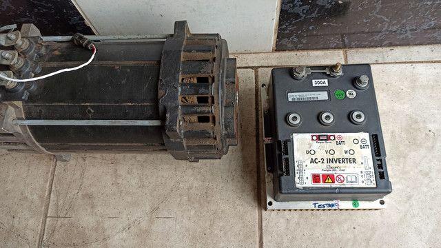 Motor carro elétrico 20 cv com controlador - Foto 4