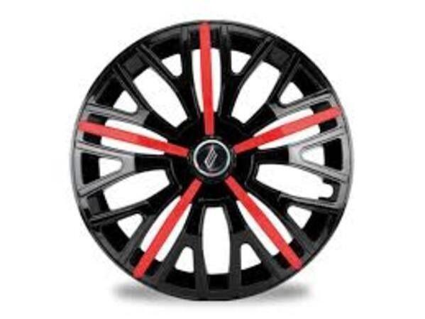 Calota elite triton black red aro 14